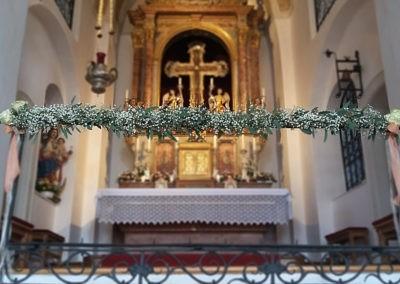 Kirchendeko Weiss